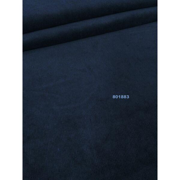 elasztikus kordbársony /sötét kék