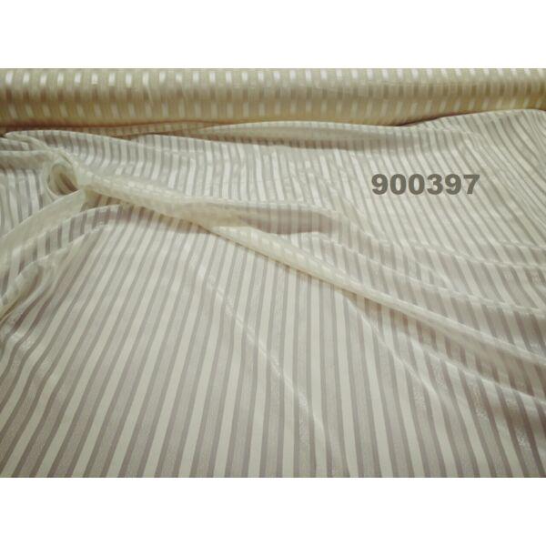 muszlin /szatén csíkos /barna(FÉLMÉTER)