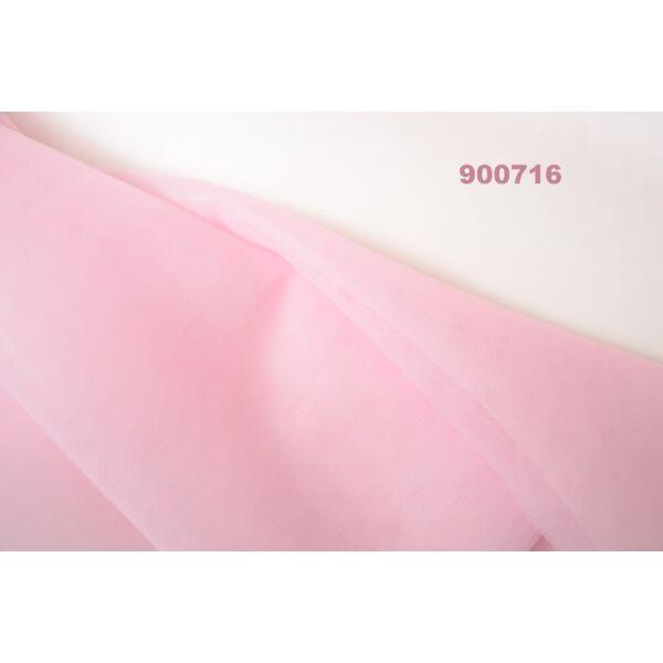 Tüll rózsaszín(FÉLMÉTER)