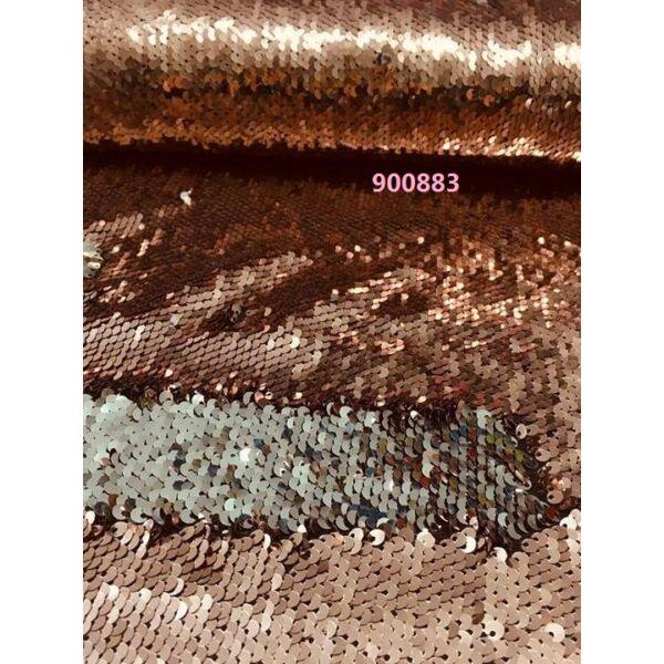 forgóflitteres alkalmi anyag /púderrózsaszín-ezüst