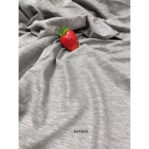 elasztikus póló anyag /csillogós szürke