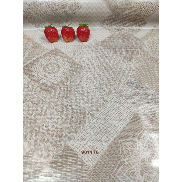 viaszos vászon/ mandala (13cm)/ natúr