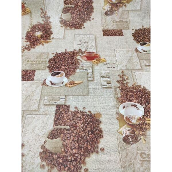 viaszos vászon /kávéscsészés (terrakotta csésze 8cm*5cm)