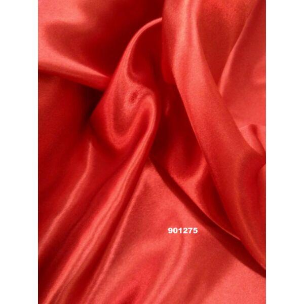 elasztikus szatén /piros(FÉLMÉTER)