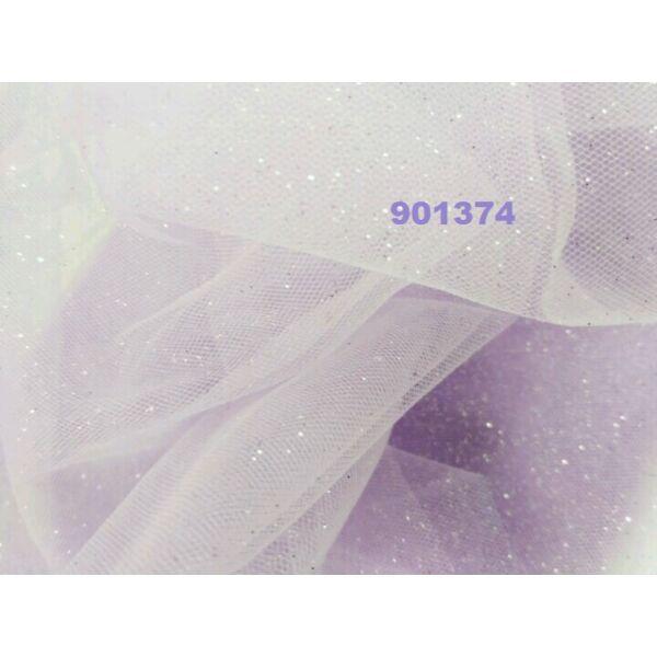 glitteres tüll /halvány lila