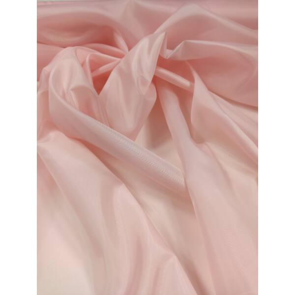 dekor-bélés selyem /flamingó rózsaszín