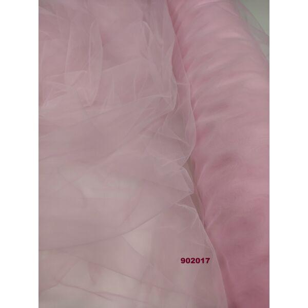 tüll 160cm széles/ világos rózsaszín