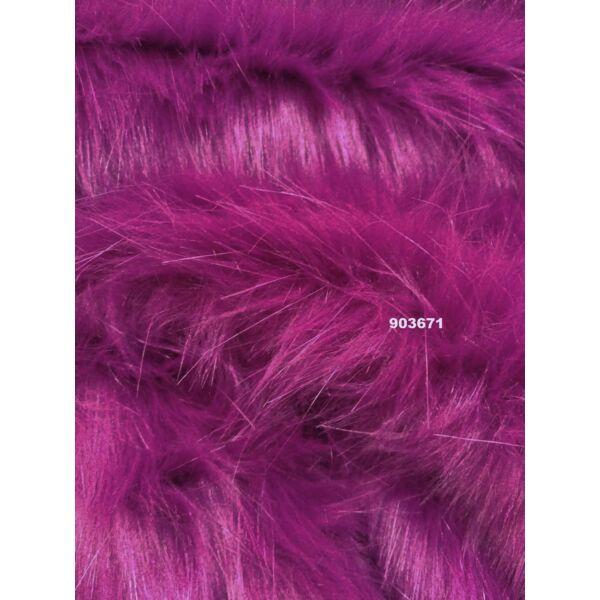 hosszúszőrű műszőrme / pink