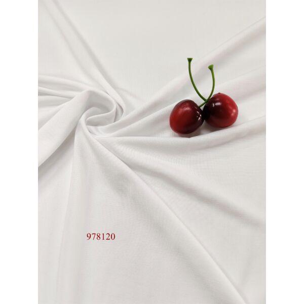 Elasztikus jersey /micropolyester /fehér