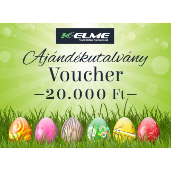Húsvéti ajándékutalvány - 20000 Ft
